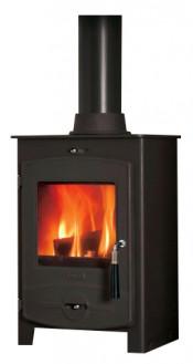 Flavel No 1 CV05 Smoke Exempt Multifuel Stove - Matte Black