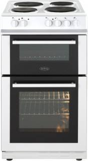 Belling FS50ET Electric Twin Cavity Cooker - White