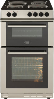 Belling FS50ET Electric Twin Cavity Cooker - Silver