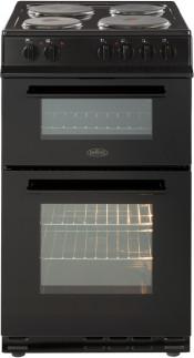 Belling 444443925 FS50EFDO Electric Double Oven Cooker - Black