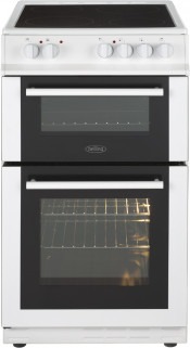 Belling FS50EDOC Electric Double Oven Cooker - White