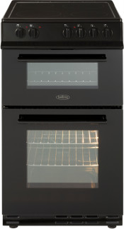 Belling FS50EDOFC Electric Double Oven Cooker - Black
