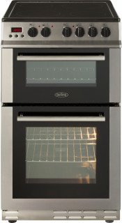 Belling FS50EDOPC Electric Double Oven Cooker - Stainless Steel