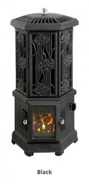 Esse Solo Thermostatic Electric Stove - Matte Black