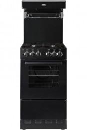 Valor V50HLG Gas Cooker With High Level Grill - Black