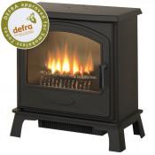 Broseley Hereford 7 DEFRA Approved Multifuel Stove - Matte Black