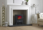 Valor Dimension Glendale Electric Stove - Matte Black