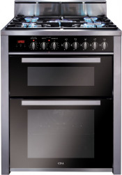 CDA RV701SS Dual Fuel Range Cooker - Stainless Steel