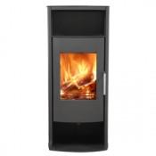 Broseley Phoenix Wood Burning Stove - Matte Black