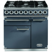 Falcon F900DXDFSL/NG 900 Deluxe Dual Fuel Range Cooker - Slate