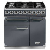 Falcon F900DXDFSL/NM 900 Deluxe Dual Fuel Range Cooker - Slate