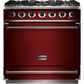 Falcon F900SDFRD/NM-EU 900S Dual Fuel Range Cooker - Cherry Red