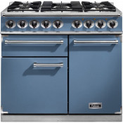 Falcon F1000DXDFCA/NG 1000 Deluxe Dual Fuel Range Cooker - China Blue