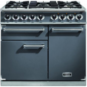 Falcon F1000DXDFSL/NM 1000 Deluxe Dual Fuel Range Cooker - Slate