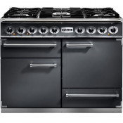 Falcon F1092DXDFSL/NM 1092 Deluxe Dual Fuel Range Cooker - Slate