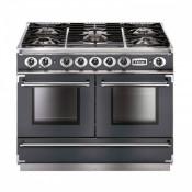 Falcon FCON1092DFSL/NM-EU Continental 1092 Dual Fuel Range Cooker - Slate