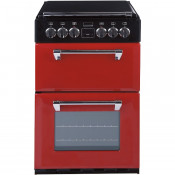 Stoves Richmond MiniRange 550E Double Oven Electric Cooker - Jalapeno