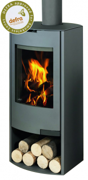 Aga Hadley Wood Burning Stove - Graphite