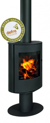 Aga Lawley Wood Burning Stove - Graphite