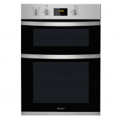 Indesit KDD3340IX Built-In Electric Double Oven - Stainless Steel