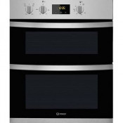 Indesit KDU3340IX Built-Under Electric Double Oven - Stainless Steel