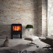 Dovre Rock 350 Wood Burning Stove - With Table Stand