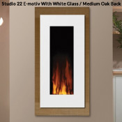Gazco Studio 22 Electric Fire - E-Motiv