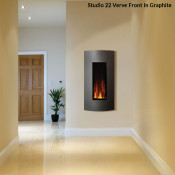 Gazco Studio 22 Electric Fire - Verve Front