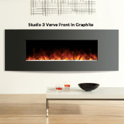 Gazco Studio 3 Electric Fire - Verve Front