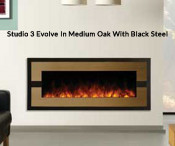 Studio 3 Electric Fire - Evolve