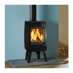 Dovre Sense 100 Wood Burning Stove - Gloss Black Enamel