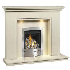 Caterham Cambridge 48 Inch Fireplace - Bianca Beige