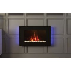 Be Modern Azonto Wall Mounted Electric Fire