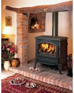 Dovre 760CBW Wood Burning Stove - Matte Black