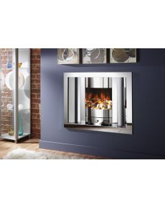 Crystal Fires Emerald Hole-in-the-Wall Gas Fire
