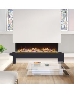Celsi Electriflame VR 1400 3-Sided Wall Mounted Electric Fire