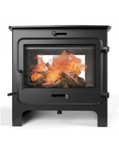 Ekol Clarity double sided multi-fuel stove