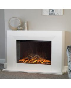 Evonic Kibo Glass Fronted Electric Fire