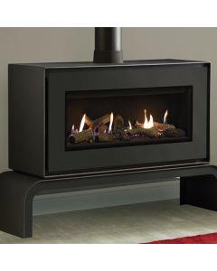 Gazco Studio 2 Freestanding Balanced Flue Gas Fire