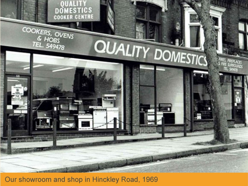 Our Showroom in 1969