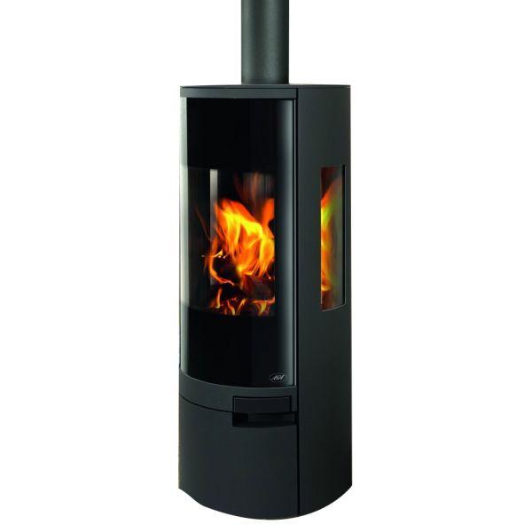 Aga Dorrington Wood Burning Stove - Graphite