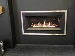 Crystal Connelly Curve Gas Fire