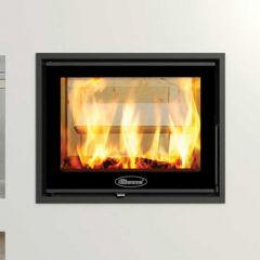 Dovre Zen 102 Double Sided Wood Burning Cassette Fire Stove