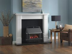 Valor 0547401 Valentia Black Chrome Balanced Flue Gas Fire