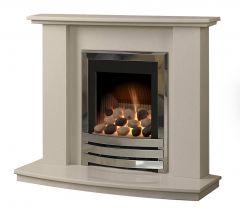 Caterham Austin 40 Inch Fireplace - Beige Marfil