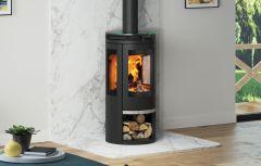 Broseley Evolution Oranier Rota Tre Wood Burning Stove