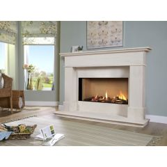 "Kinder Avignon 54"" Eden Elite Slimline Balanced Flue Gas Suite"