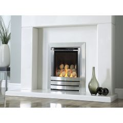Kinder KHCPW0RN2 Camber HE Silver Remote Control Gas Fire