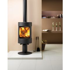 Dovre Astroline 3CB Multifuel Stove - Anthracite / With Pedestal