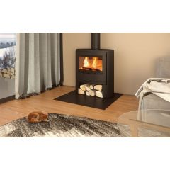 Dovre Bow Wood Burning Stove - With Legs